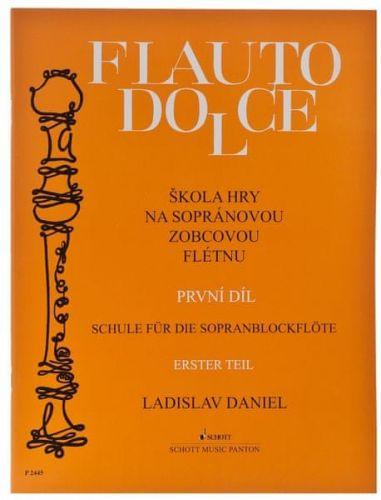 Daniel Ladislav: Škola hry na sopránovou zobcovou flétnu I cena od 105 Kč