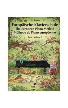 Emonts Fritz: Europäische klavierschule 2 - Evropská klavírní škola 2 cena od 218 Kč