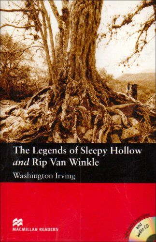 Macmillan Readers The Legends of Sleepy Hollow and Rip Van Winkle+CD - Washington cena od 205 Kč