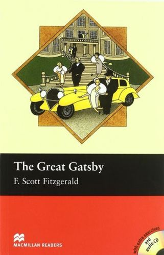 Macmillan Readers The Great Gatsby+CD - F.Scott Fitzgerald cena od 228 Kč