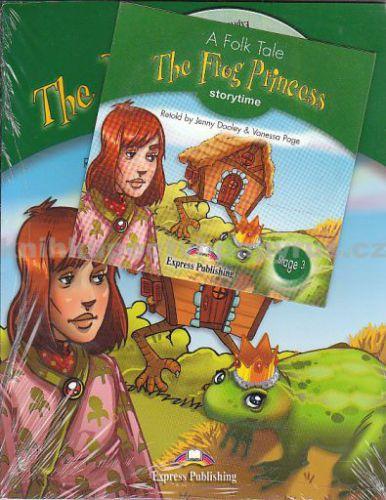Dooley Jenny: The Frog Princess + CD cena od 181 Kč