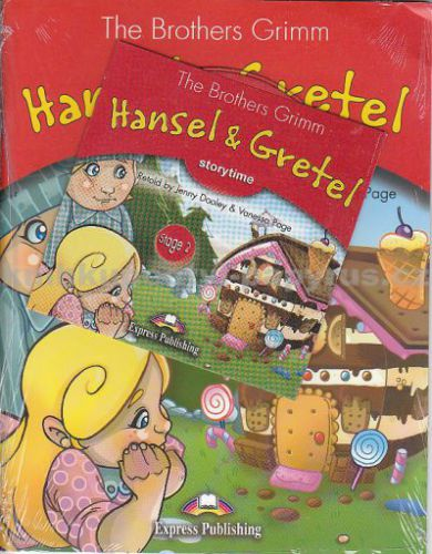 The Brothers Grimm: Hansel a Gretel + CD cena od 0 Kč