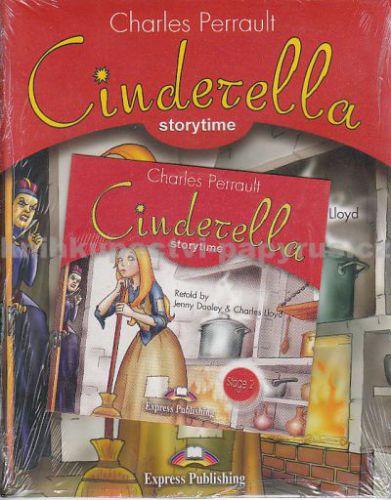 Perrault Charles: Cinderella + CD cena od 181 Kč