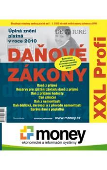 DonauMedia Daňové zákony 2010 XXL Profi cena od 84 Kč