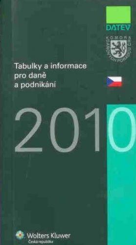 Wolters Kluwer Tabulky a informace pro daně a podnikání 2010 cena od 139 Kč
