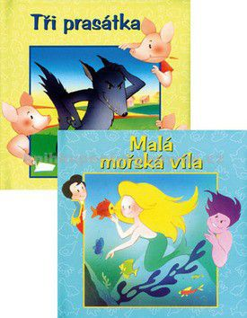 Fortuna Print Balíček 2ks Tři prasátka + Malá mořská víla cena od 107 Kč