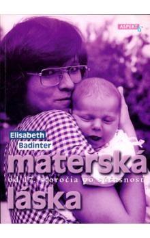 Elisabeth Badinter: Materská láska cena od 124 Kč