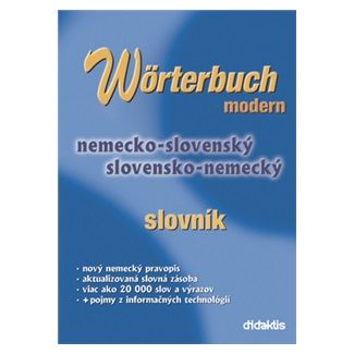didaktis Wörterbuch Modern cena od 170 Kč