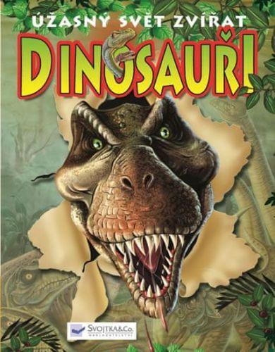 Svojtka Dinosauři Úžasný svět zvířat cena od 50 Kč