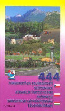 VKÚ 444 turistických zajímavostí Slovenska cena od 61 Kč