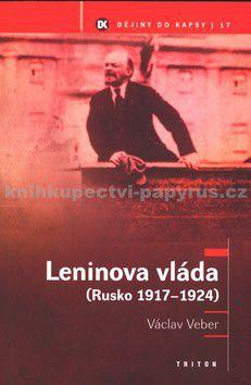 Václav Veber: Leninova vláda (Rusko 1917-24 ) - Dějiny do kapsy 17. cena od 133 Kč