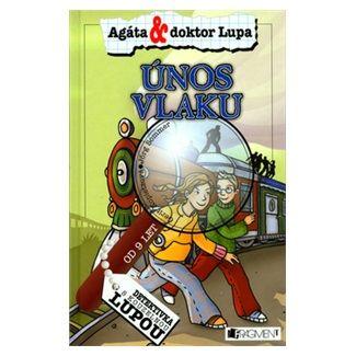 Gerit Kopietzová, Jörg Sommer, Eva Davidovová: Únos vlaku - Agáta & doktor Lupa - Detektivka s kouzelnou lupou cena od 121 Kč
