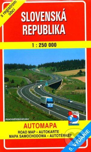 VKÚ Slovenská republika 1 : 250 000 cena od 114 Kč