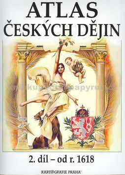 Kartografie PRAHA Atlas českých dějin 2. díl od r. 1618 cena od 199 Kč