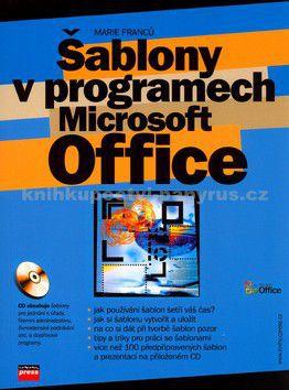 COMPUTER PRESS Šablony v programech Microsoft Office + CD cena od 145 Kč