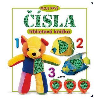 Sibyla Mislovičová: Moje prvé čísla - trblietavá knižka cena od 75 Kč