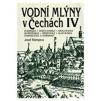 Josef Klempera: Vodní mlýny v Čechách IV. cena od 132 Kč