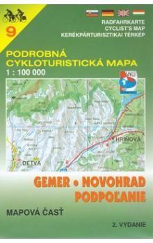 VKÚ Gemer, Novohrad, Podpolanie 1:100 000 cena od 91 Kč