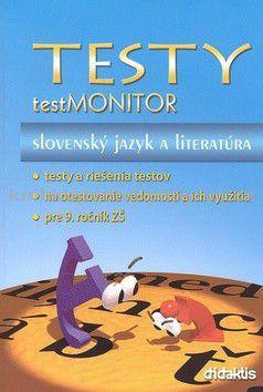 Testy testMONITOR Slovenský jazyk a literatúra - Kolektív autorov cena od 199 Kč