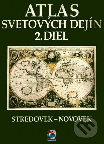 VKÚ Atlas svetových dejín 2.diel cena od 93 Kč