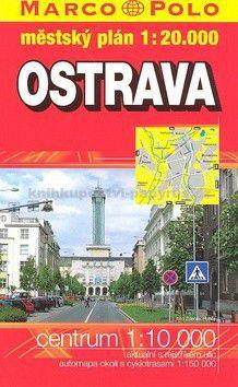 Marco Polo Ostrava městský plán 1:20 000 cena od 127 Kč