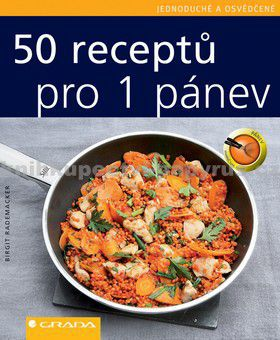GRADA 50 receptů pro 1 pánev cena od 62 Kč