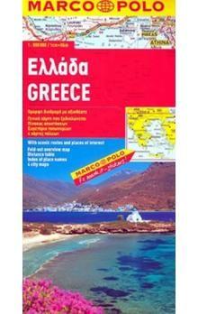 Greece 1:800 000 cena od 122 Kč