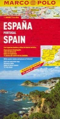 Španělsko Portugalsko1:800 000 cena od 135 Kč