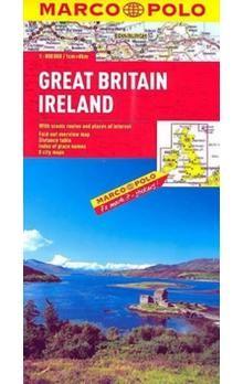 Velká Británie Irsko Great Britain 1:800 000 cena od 142 Kč