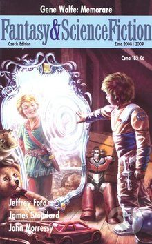 Gene Wolfe: Fantasy a ScienceFiction zima 2008/2009 cena od 69 Kč