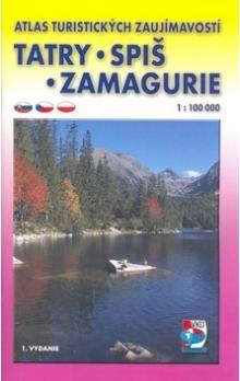 VKÚ Tatry, Spiš, Zamagurie 1:100 000 cena od 73 Kč
