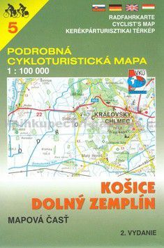 VKÚ Košice, Dolný Zemplín 1:100 000 cena od 85 Kč