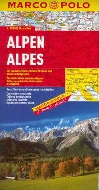 Alpy/mapa 1:800T cena od 175 Kč