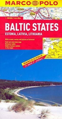 Baltské státy 1:800 000 cena od 113 Kč