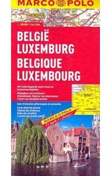Belgie/Lucembursko 1:300 000 cena od 140 Kč