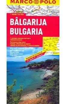 Bulharsko 1:800 000 cena od 142 Kč