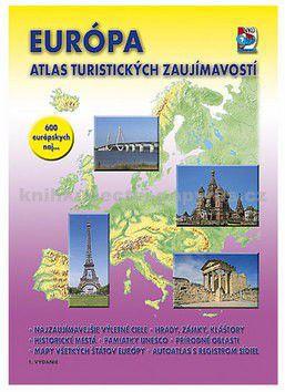 VKÚ Európa Atlas turistických zaujímavostí cena od 59 Kč