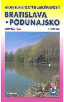 VKÚ Bratislavsko Podunajsko 1 : 100 000 cena od 71 Kč