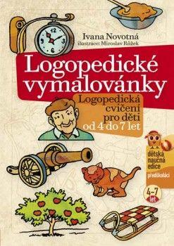 Ivana Novotná: Logopedické vymalovánky cena od 105 Kč