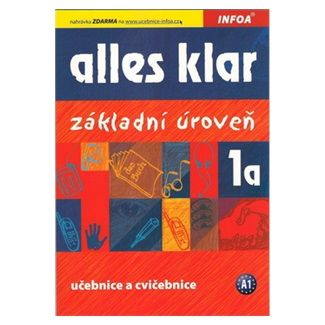 Luniewska a Krystyna: Alles klar 1a - učebnice+cvičebnice cena od 134 Kč