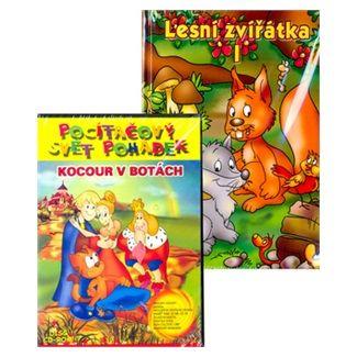 Eva Večeřová: Lesní zvířátka + CD ROM cena od 55 Kč