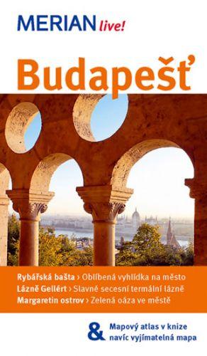 János Nemes: Merian 45 - Budapešť - 3. vydání cena od 129 Kč