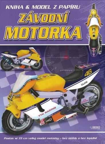 Závodní motorka cena od 39 Kč