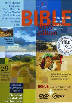 Česká biblická společnost Bible Nový zákon cena od 88 Kč