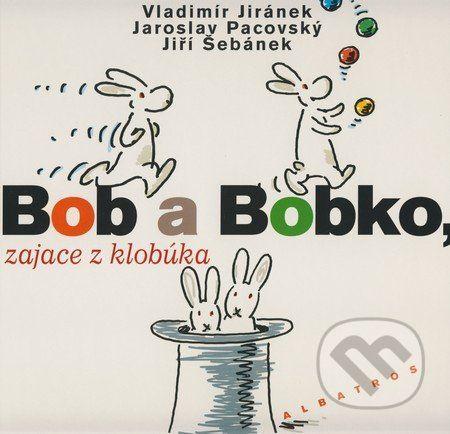 ALBATROS Bob a Bobko, zajace z klobúka cena od 87 Kč