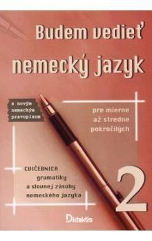 didaktis Budem vedieť nemecký jazyk 2 cena od 147 Kč