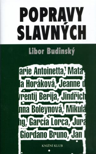 Libor Budinský: Popravy slavných cena od 100 Kč