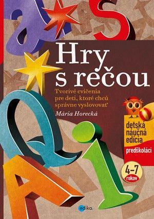 Mária Horecká: Hry s rečou cena od 134 Kč