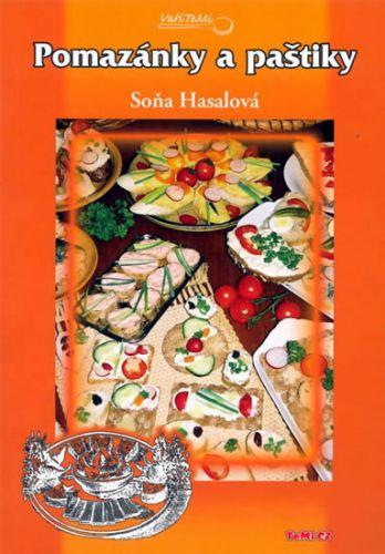 Soňa Hasalová: Pomazánky a paštiky cena od 110 Kč