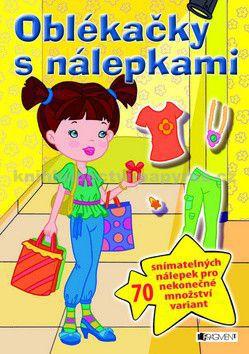 Kolektiv: Oblékačky s nálepkami - žlutá cena od 0 Kč